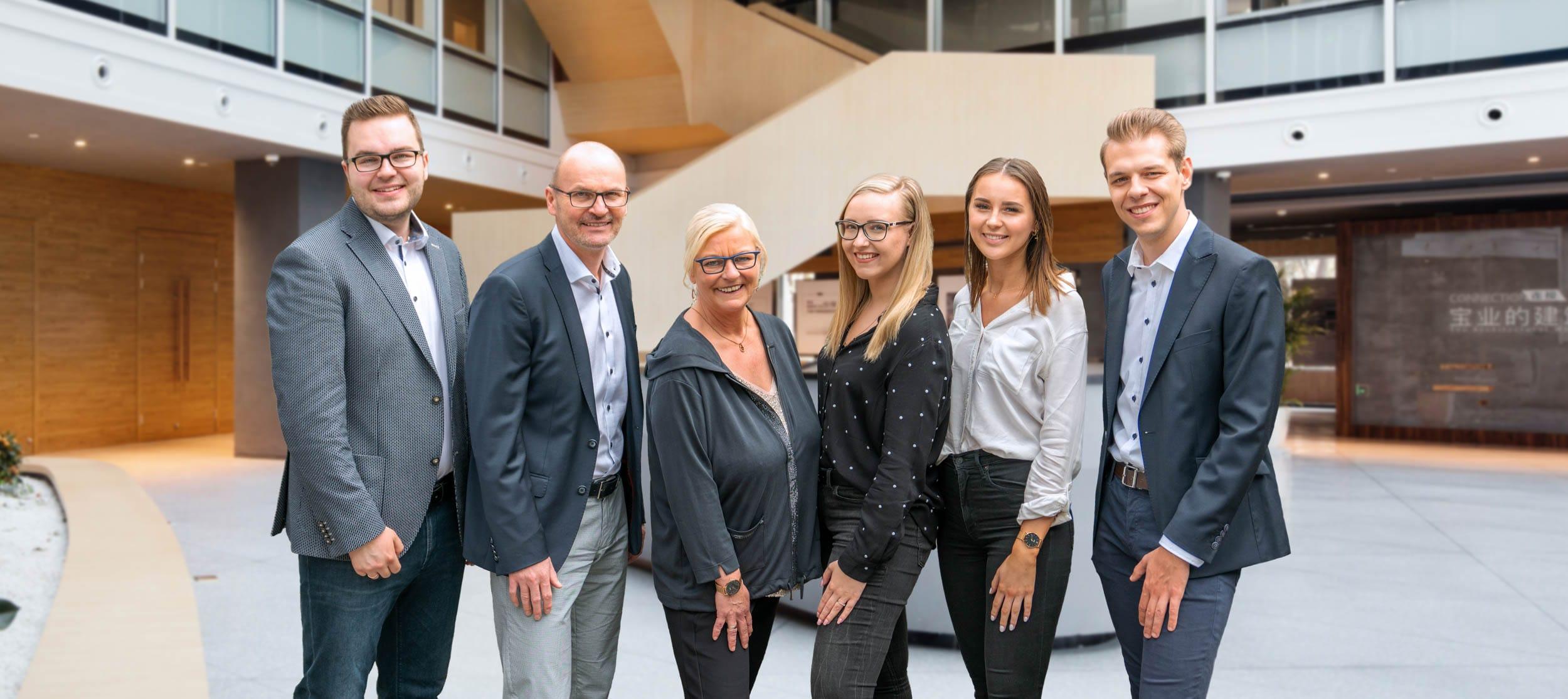 Das Team der Kompforr Immobilienmanagement GmbH